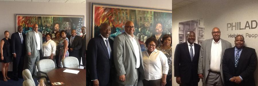 John Wetzel visits Philadelphia OIC