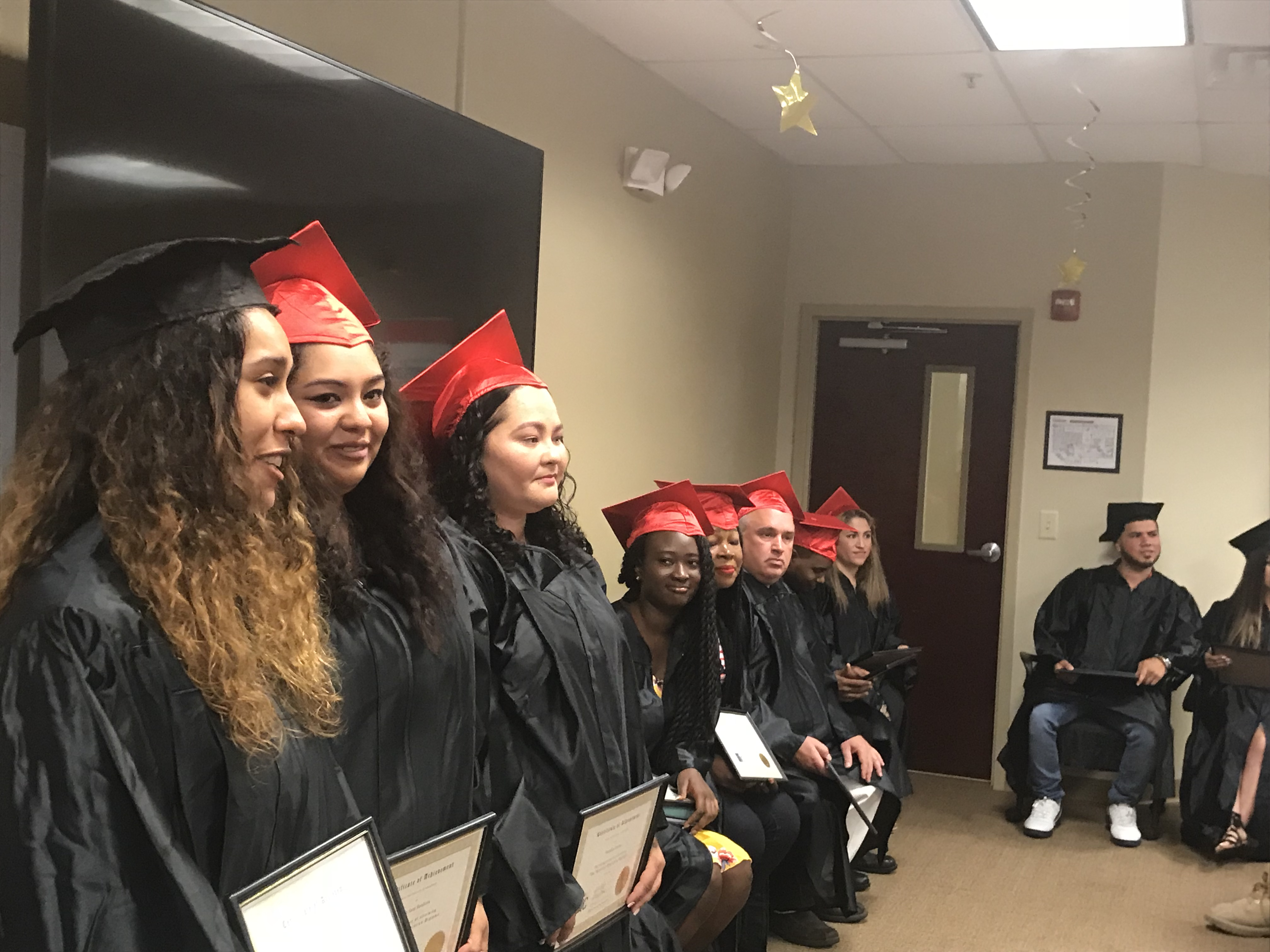OIC Congratulates our Newest GED Graduates