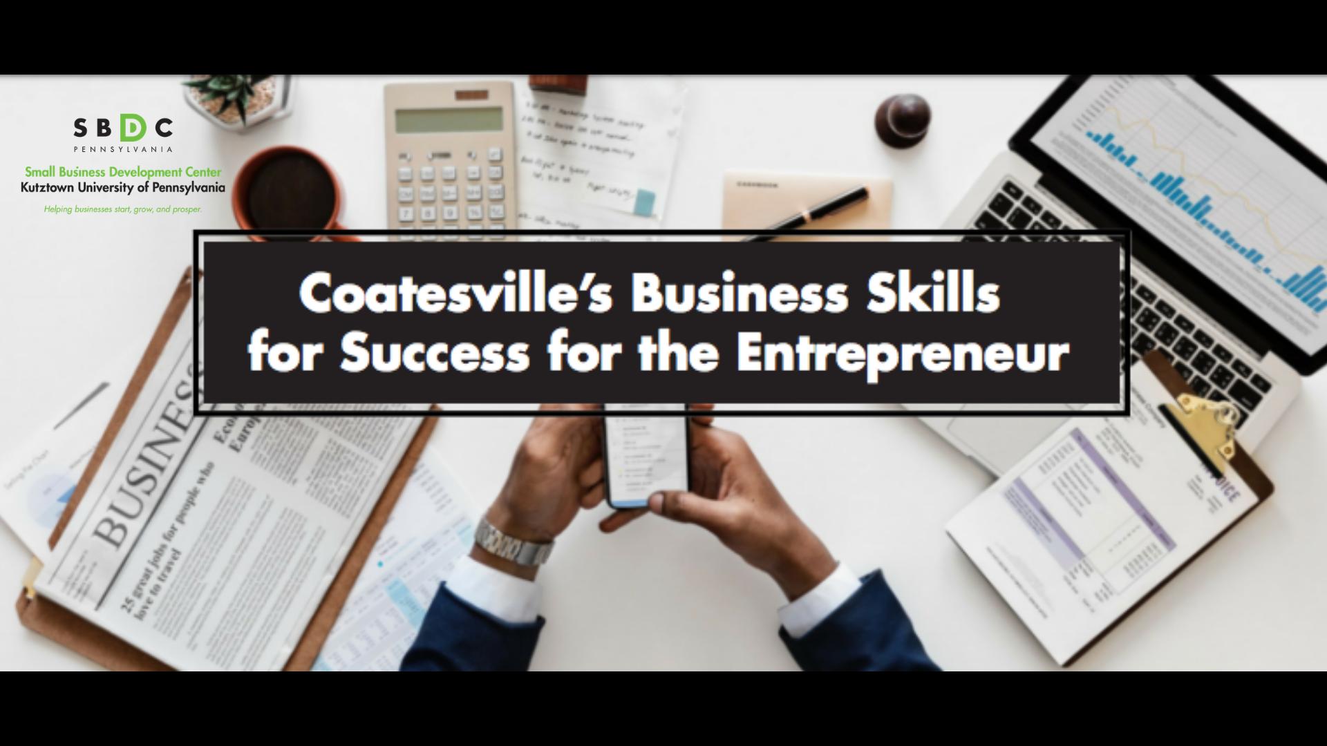 Coatesville Business Skills Webinar