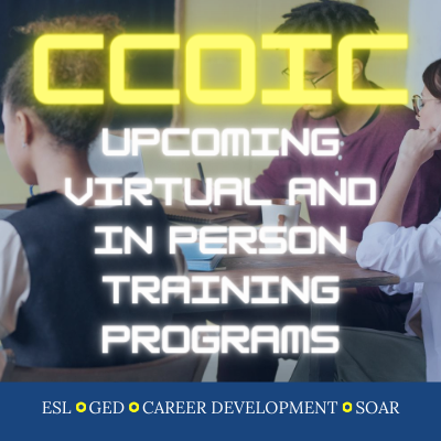 CCOIC: Virtual and In Person Training Programs