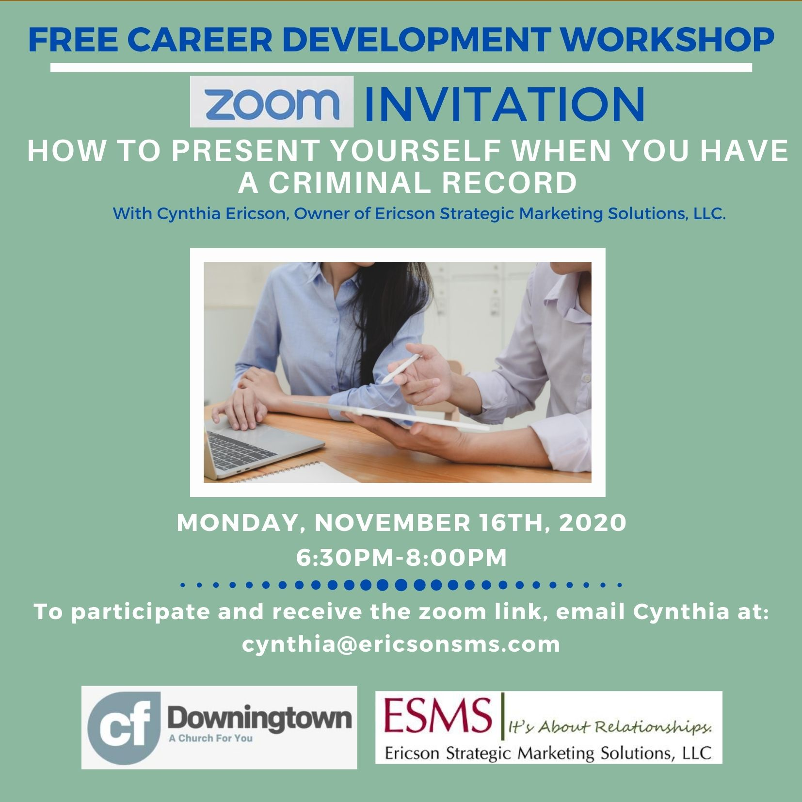 Free Career Development Workshops