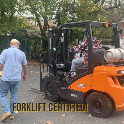 Forklift Certified!