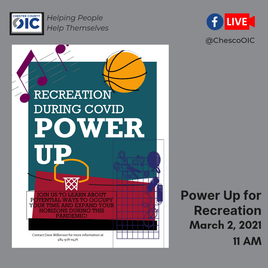 Power up: Recreation Edition
