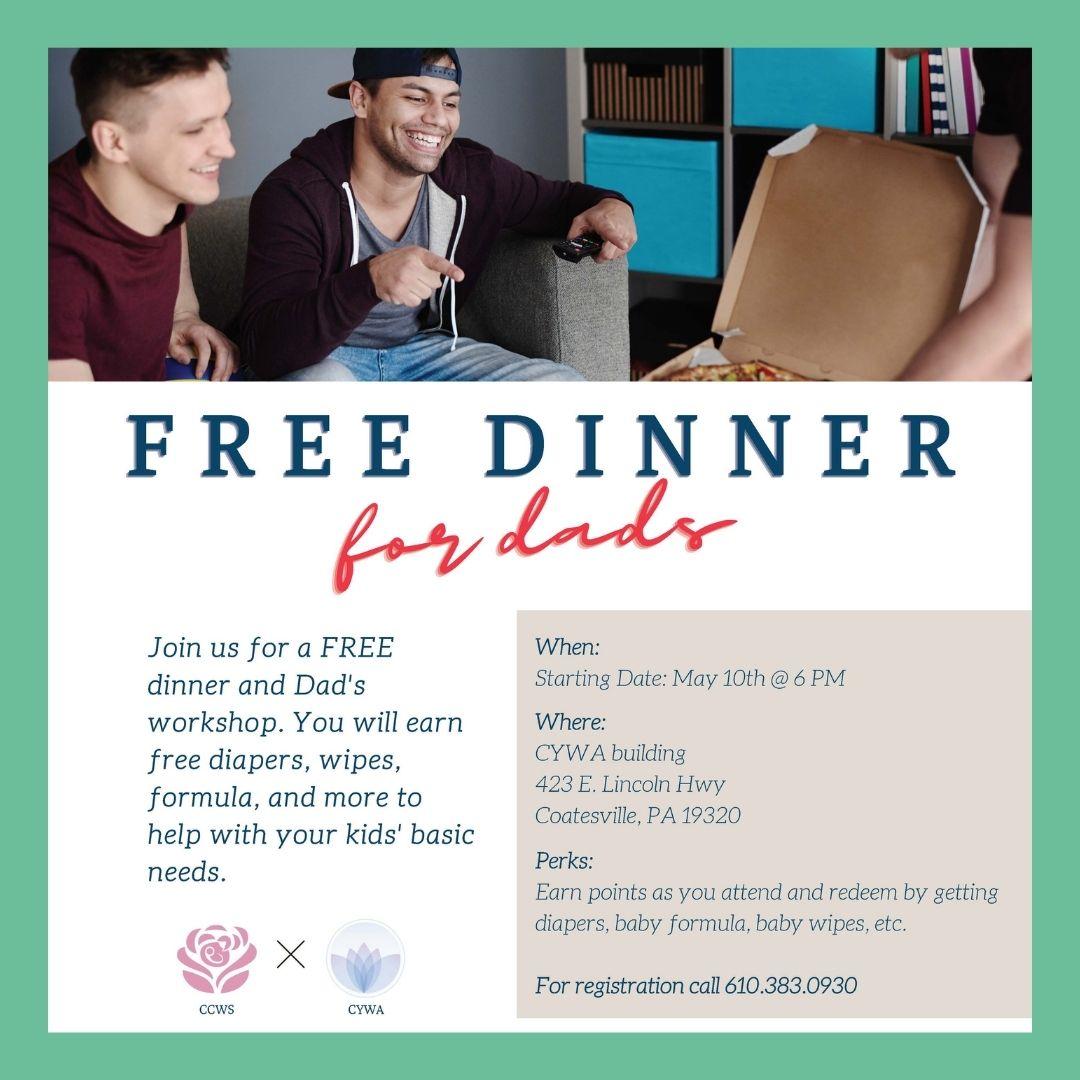 FREE Dad's & Dinner Night