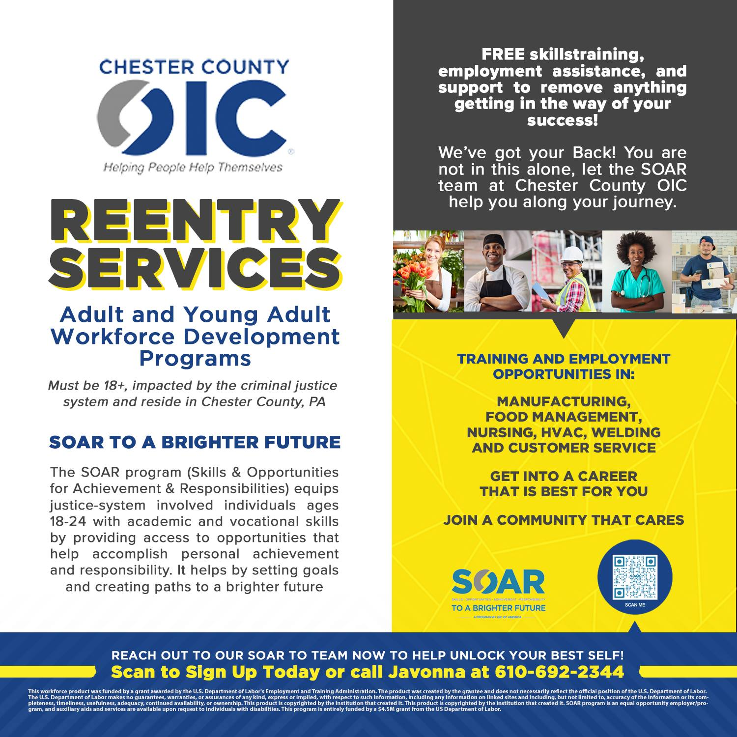 Chester County OIC Reentry Services