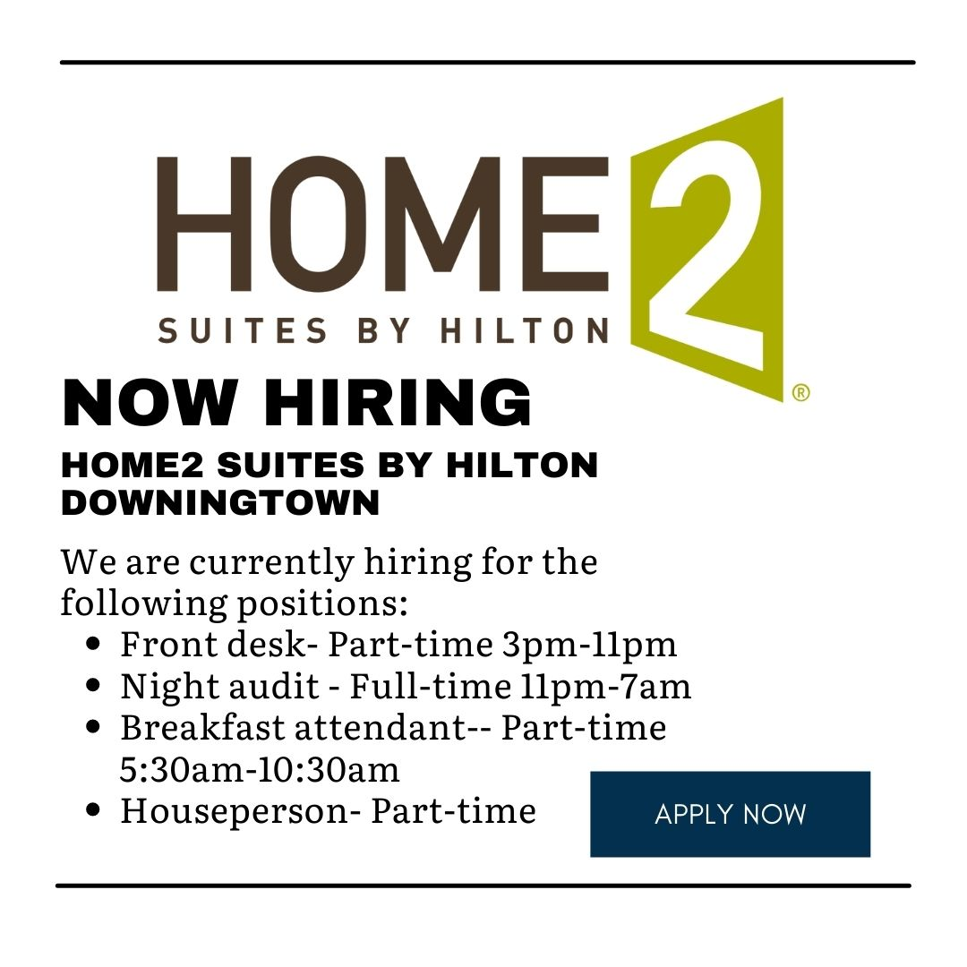 Now Hiring – Home2 Suites by Hilton
