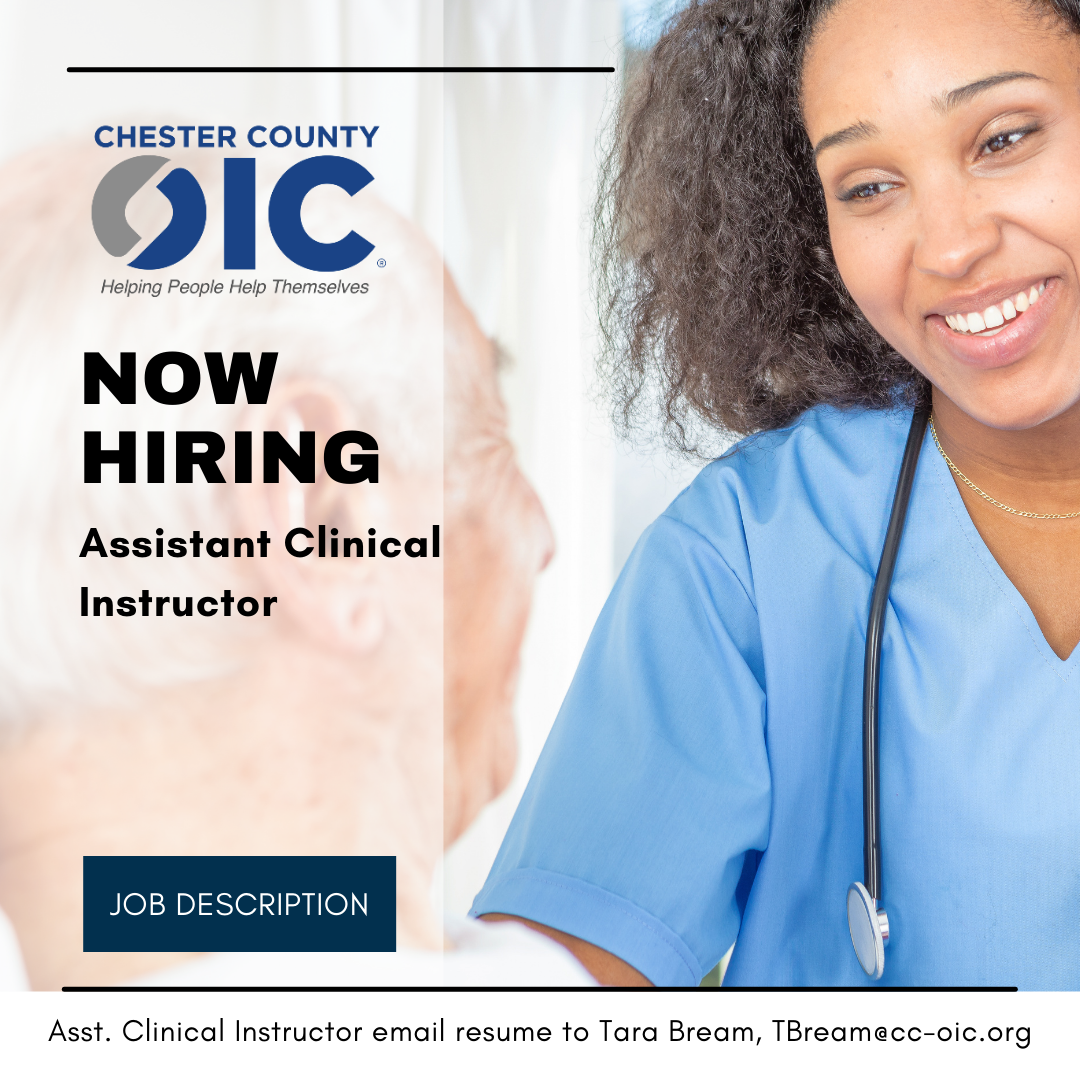 Now Hiring – Chester County OIC